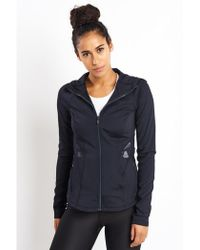 Under Armour Breathelux Bonded Cut-out Full Zip - Black