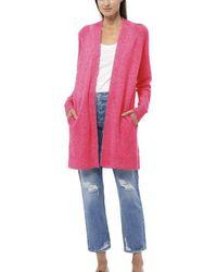 360cashmere Alissa Cardigan Hibiscus - Pink