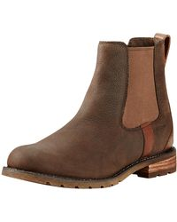 Ariat Ladies Wexford H2o Boots - Brown