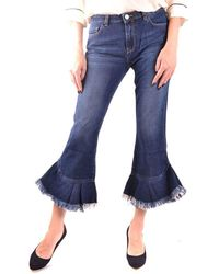 Pinko Blue Flared Jeans