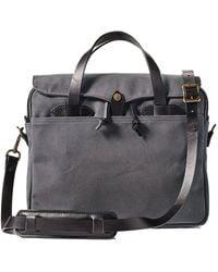Filson Original Briefcase Cinder - Black