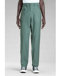 Stan Ray Taper Fatigue Pant - Olive Sateen - Green