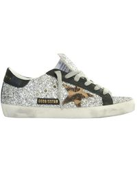 Golden Goose Deluxe Brand Superstar Leather-trimmed Sneakers - Multicolor