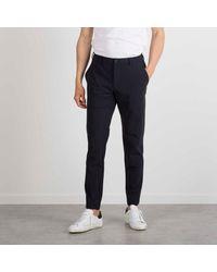 "Cruna Pants ""marais"" Technical Jersey - Blue"
