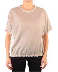 Peserico T-shirt Bimat.48a Beige S6299j0-5667 - Natural