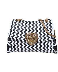 Dolce & Gabbana - Dolce E Gabbana Leather Shoulder Bag - Lyst