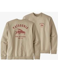 Patagonia Jersey Surf Activist Uprisal Crew - Pumice - Multicolor
