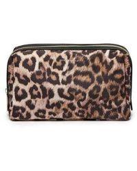 Estella Bartlett Toiletries Bag - Leopard - Multicolour