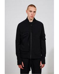 Thom Krom Msj 451 Jacket Colour: , - Black