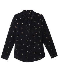 Rails Kate Animal Stars Shirt - Multicolour
