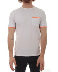 Sun68 Sun 68 Cotton T-shirt - White