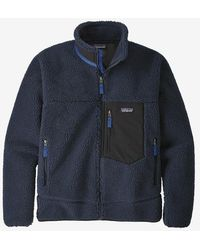 Patagonia Classic Retro-x Fleece Jacket - New Navy Colour: New Navy, S - Blue