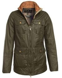 Barbour Lightweight Filey Wax Jacket Archive Olive Lwx0832 - Green