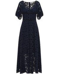 Beatrice B. - Lace Midi Dress Navy - Lyst