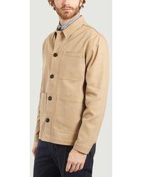 Suit Four Cotton Jacket Chinchilla - Green