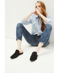 Brockenbow - Brokenbow Women's Skinny Reina Star Ice Blue Jeans - Lyst