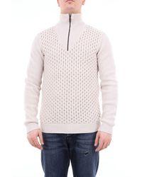 Paolo Pecora Virgin Wool Turtleneck Sweater - Brown