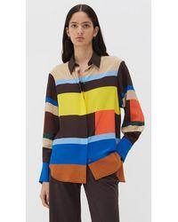 Chinti & Parker Modernity Shirt Multi - Multicolour