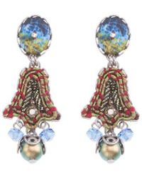 Ayala Bar Green Claudia Earrings - Multicolor