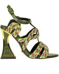 Kat Maconie Sissy Sandals - Green