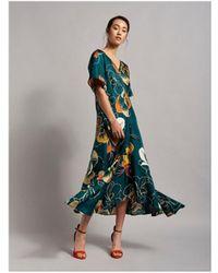 Beatrice B. Floral Maxi Dress Green