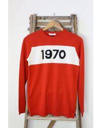 Bella Freud 1970 Red Jumper