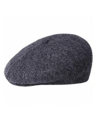 Kangol Boiled Wool Galaxy - Dark Flannel - Grey