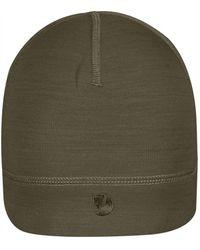Fjallraven - Fjallraven Keb Fleece Hat Dark Olive - Lyst