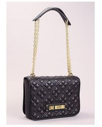 Love Moschino Quilted Mid Bag Colour: Black