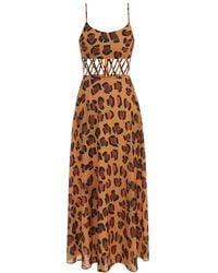 Tata Naka Leopard Print Dress - Multicolour