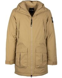 The North Face North Face Coats Beige - Natural