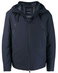 Herno Men's Pi115ul111219201 Blue Polyester Outerwear Jacket