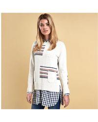 Barbour - Ladies Seaton Knit - Lyst