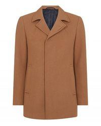 Remus Uomo Uomo Lohman Overcoat Camel Colour: Camel, - Brown