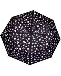 Karl Lagerfeld - K Ikonik Umbrella In Black - Lyst