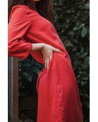ARMEDANGELS Fiannaa Aurora Red Dress