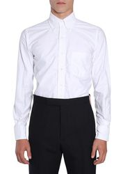 Thom Browne Button Down Shirt - White