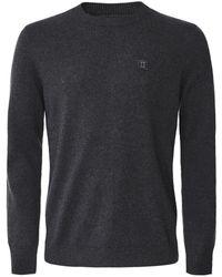 Les Deux Cotton Cashmere Etienne Jumper Colour: Charcoal - Grey