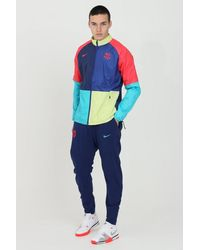 Nike Fc Barcelona Pants - Blue