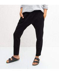 Chalk Robyn Loungewear Trousers - Black