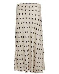 B.Young Halima Skirt - White