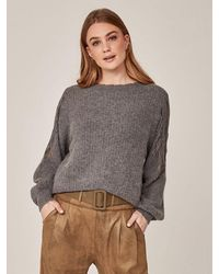NÜ Iga Pullover Knit In Statue - Grey