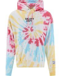 GALLERY DEPT. Gallerydptmarinatiedyehoo Other Materials Sweatshirt - Pink