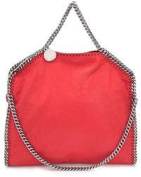 Stella McCartney - Women's 261063w91326501 Red Polyester Handbag - Lyst