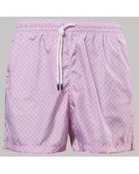Fedeli Madeira Swimshorts Plumeria (pink)