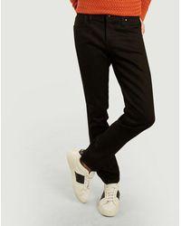 The Unbranded Brand Ub444 Tight 11oz Stretch Selvedge Jeans - Black