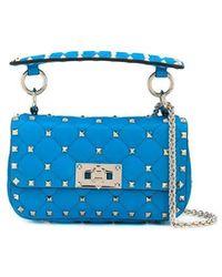Valentino Garavani Women's Tw0b0g37qibkqm Light Blue Leather Handbag