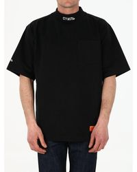 Heron Preston Black Logo T-shirt