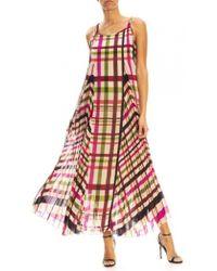Seventy Barrique Dress Multi Check - Multicolor