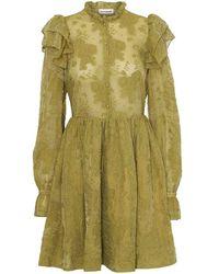 Custommade• Kimsa Dress - Olive Oil - Green